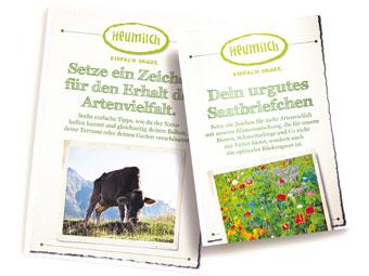 Samentütchen - Wildblumenmischung kostenlos bestellen !
