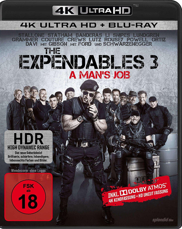 The Expendables 3 (4K Blu-ray + Blu-ray) für 14,32€ (Amazon.it)