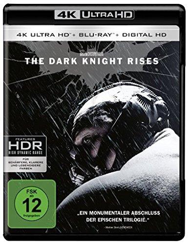 [Amazon MP] The Dark Knight Rises (4K Ultra HD + 2D-Blu-ray) (2-Disc Version) [Blu-ray]