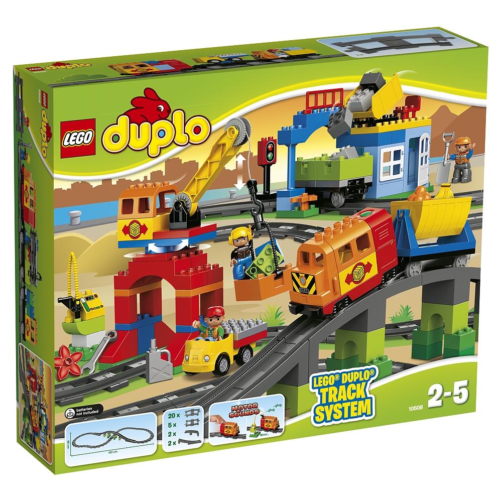 LEGO DUPLO - 10508 Eisenbahn Deluxe Set