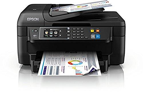 [Amazon] Epson WorkForce WF-2760DWF 4-in-1 Multifunktionsdrucker (Drucken, Duplex, Scannen, Kopieren, Faxen, WiFi, Dokumenteneinzug) für 59,01€ Bestpreis !