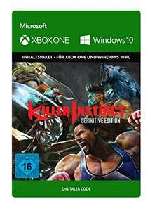 Killer Instinct: Definitive Edition (Xbox One/PC Play Anywhere Digital Code) für 5,55€ & für 3,99€ VPN (Xbox Store TR)