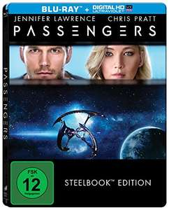 Passengers Limited Steelbook Edition (Blu-ray + UV Copy) & Lawrence von Arabien Steelbook (Blu-ray) & The Equalizer Steelbook (Blu-ray) für je 6,38€ (Amzon Prime)