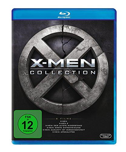 X-Men 1-6 Boxset [Blu-ray] für 23,83€ [Amazon]
