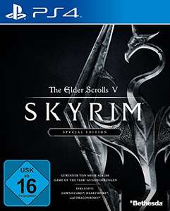 [Amazon Prime] Skyrim Special Edition PS4 16,99€ oder 19€ Saturn