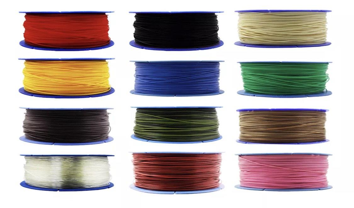 3D-Druck PLA Filament mit 1,75mm Durchmesser 1KG-Spule für 11,70€ [B-Ware] -- 6 Rollen zum Preis von 5