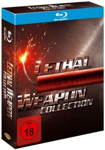 Lethal Weapon 1-4 (Box) [Blu-ray] für 14,97€ und Batman 1-4 [Blu-ray] für 14,97€ [Amazon]