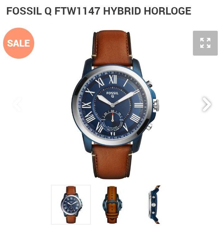 Fossil Q Hybrid FTW1147