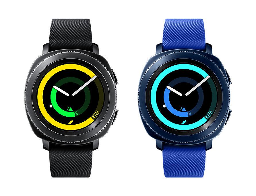 [Media Markt] SAMSUNG Gear Sport Smartwatch Silikon, S/L in schwarz oder blau