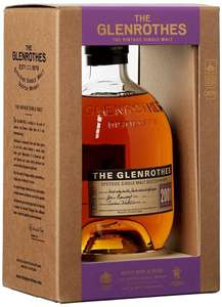 GLENROTHES Vintage 2001 Whisky 43% versandkostenfrei [Real.de + Newsletter]