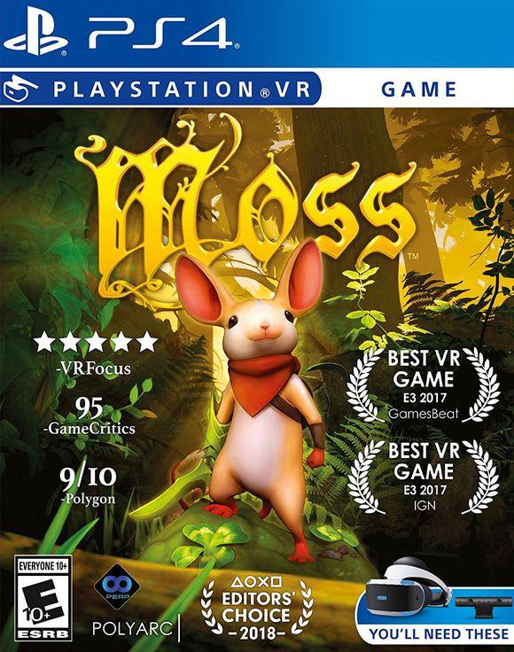 Moss (PS4-VR) für 22,95€ (Coolshop)