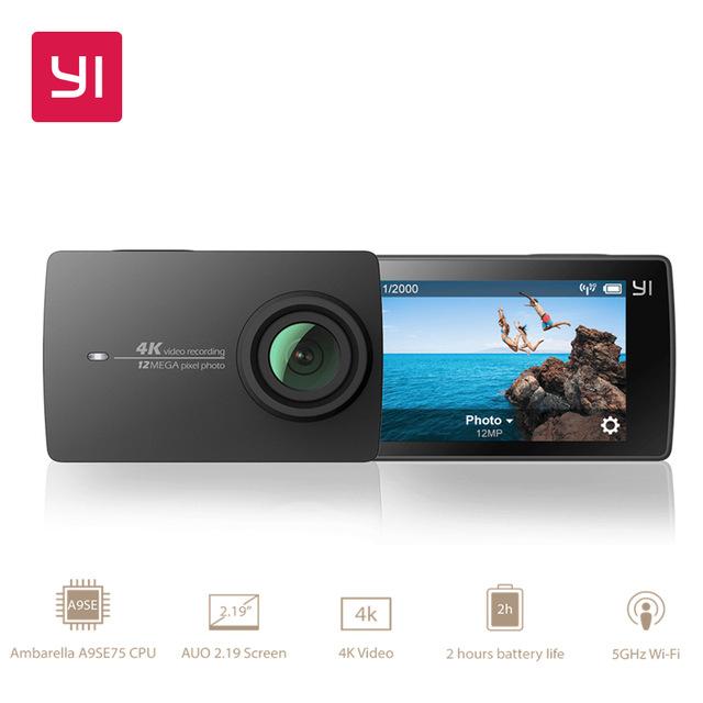 [AliExpress - Yi Official Store] Action Cam Yi 4k für 127,26 - Yi 4k mit WP Gehäuse für 147,36 uvm.