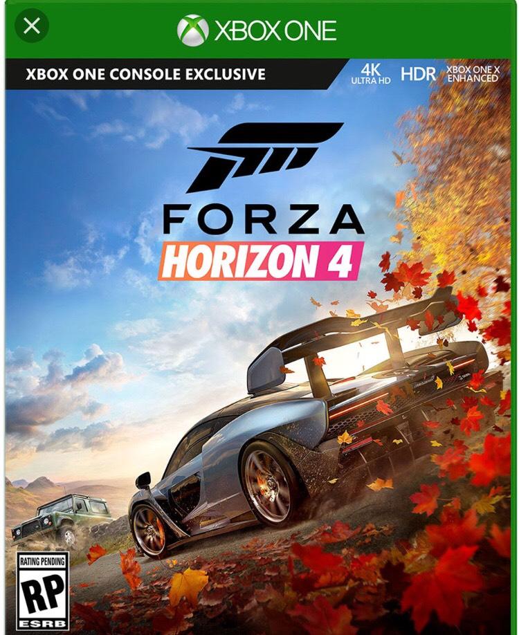 Xbox One Forza Horizon 4 + weitere Spiele für 29,99€ für 6 Monate
