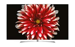 LG OLED 65B7D TV mit Ultra HD, Doppelter Triple Tuner, Active HDR mit Dolby Vision, Dolby Atmos, Smart TV bei Amazon