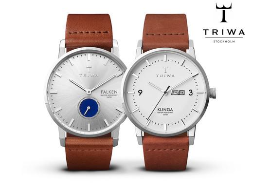 [ibood] TRIWA Blue Eye Falken (oder oder Snow Klinga) Armbanduhr