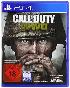 Call of Duty: WWII - Standard Edition PS4 für 24,99 € plus 5 € Strafversand