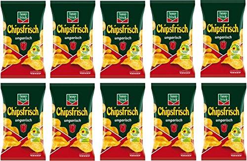 Funny-frisch Chipsfrisch 10er Pack (10 x 175 g) verschiedene Varianten 9,99 mit Sparabo 8,49 (15%) oder  9,49 (5%) möglich Prime