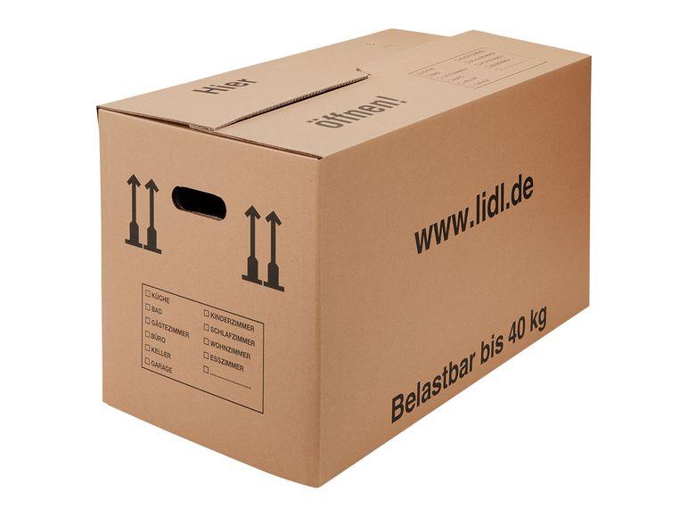 Umzugskartons 40 kg, Standardgröße (B 65 x H 37 x T 35 cm)
