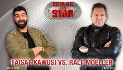 Kostenlos zu Schlag den Star: Faisal Kawusi vs. Ralf Moeller