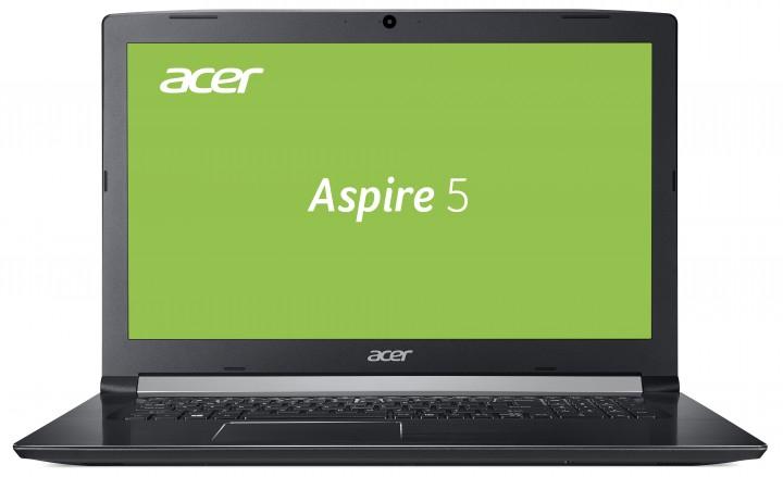 """Multimedia-Notebook Acer Aspire 5 A517-51G-54AU (17,3"""" Full HD IPS, i5-8250U, 8GB RAM, 128GB SSD + 1TB HDD, MX150 2GB, DVD-Brenner, Windows 10 Home)"""
