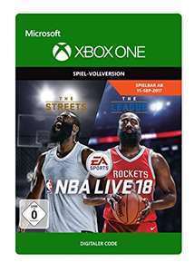 NBA Live 18: The One Edition (Xbox One) für 6€ (Xbox Store)