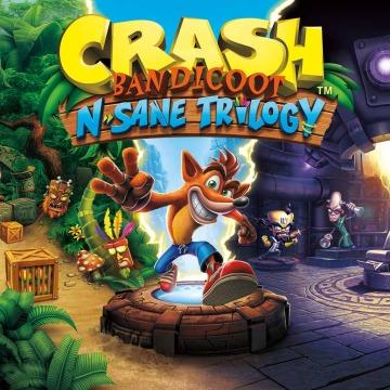 Crash Bandicoot™ N. Sane Trilogy - Start-Pack mit Dynamisches Design und Avataren (PS4) kostenlos
