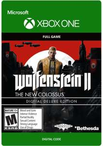 Wolfenstein II: The New Colossus Deluxe Edition (Xbox One Digital Code) für 20,37€ (Xbox Store AR VPN)