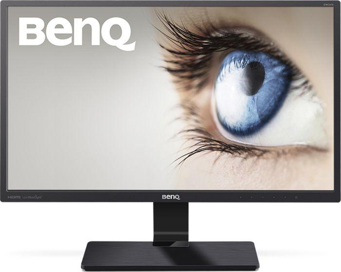 [nbb] BenQ GW2470HL - 23,8 Zoll Full HD LED Monitor (VA Panel, 60 Hz, 8 bit, D-Sub, 2x HDMI, VESA, 4ms, Low Blue Light Plus) schwarz