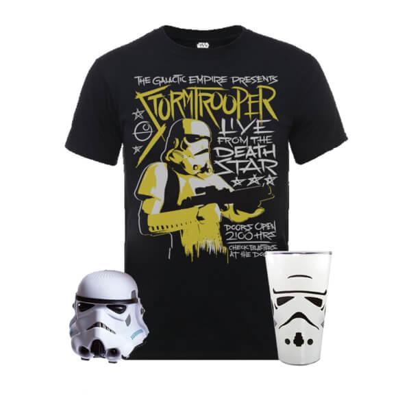 Solo: A Star Wars Story --> Star Wars Mega Stormtrooper Paket für 31,48€ bei Zavvi (T-Shirt, Bluetooth Lautsprecher und Glas)
