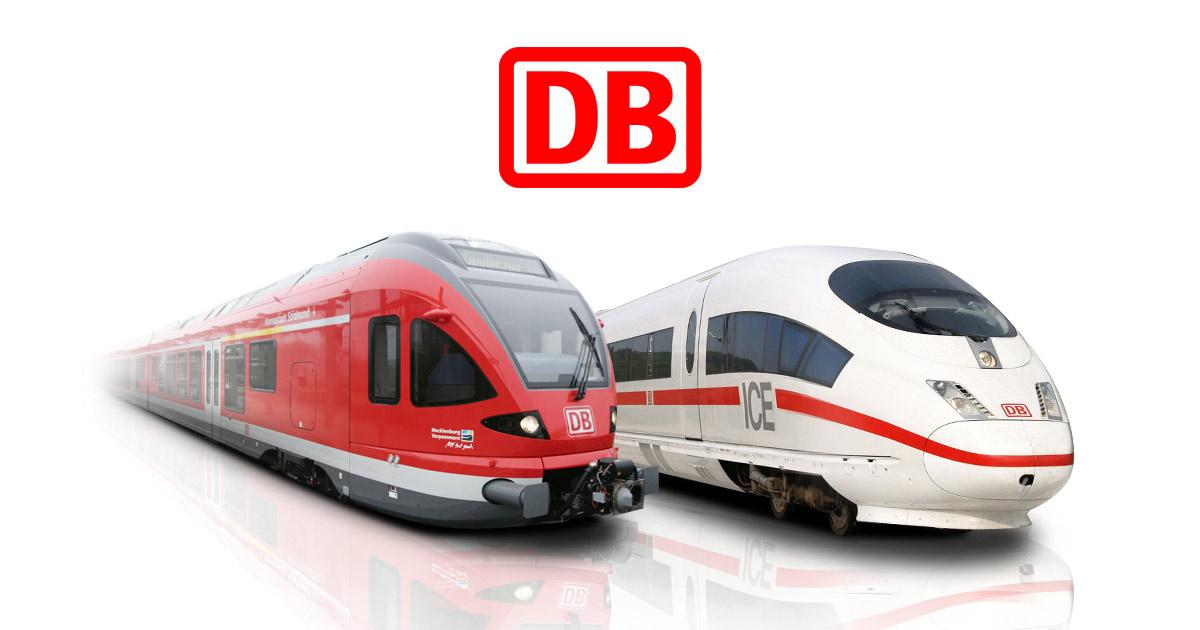 Deutsche Bahn Sommer-Ticket - 4 Fahrten für junge Menschen für 76€ bzw. 96€