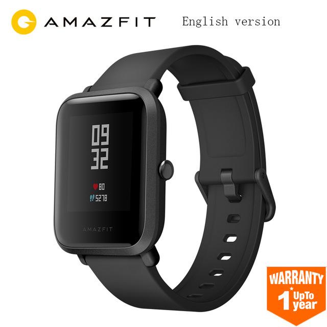 [Aliexpress] Xiaomi Huami Amazfit BIP Smartwatch schwarz - Versand aus DE