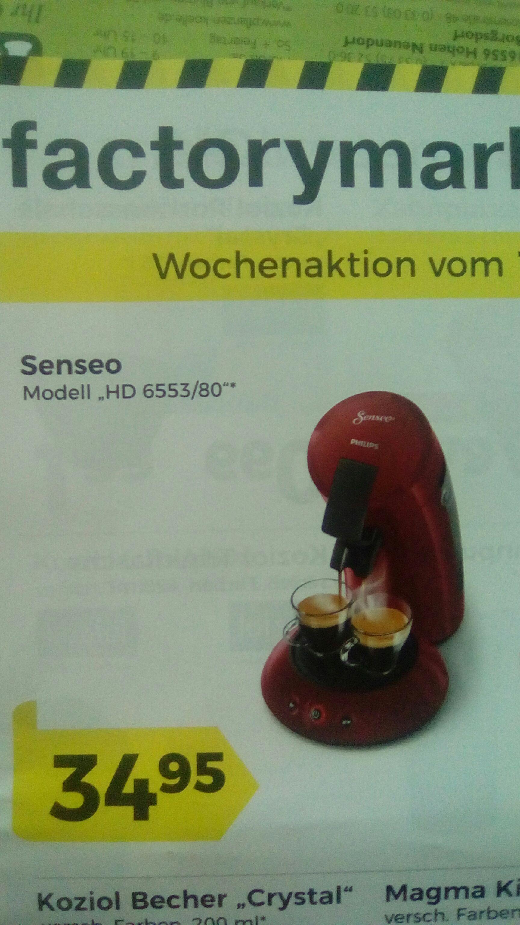 (Lokal Berlin) Senseo HD 6553/80 für 31,95