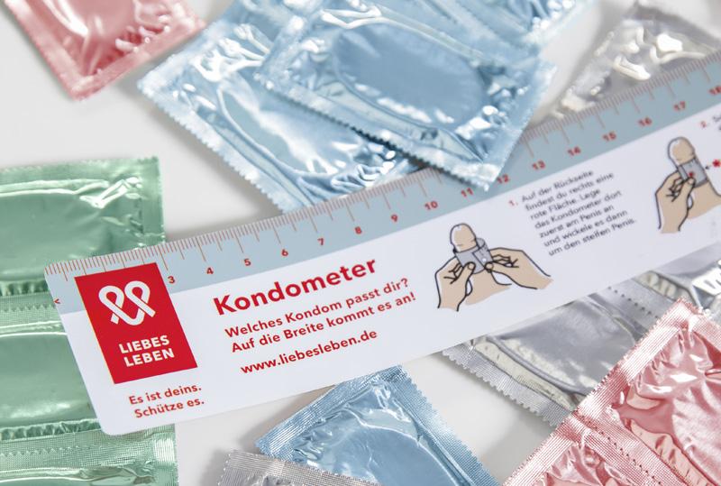 Kondometer & andere Materialien gratis bestellen !