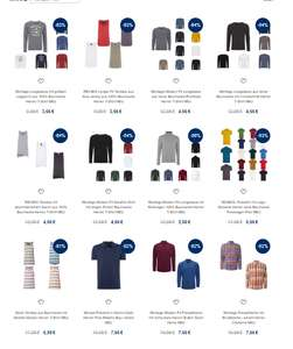 [eBay] Marken Shirts & Pullover ab 3,66€, Hemden ab 7.66€ inkl. Versand!
