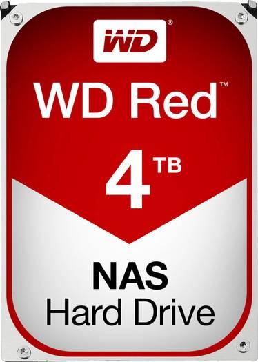 Western Digital WD Red - 4 TB - Bulk - WD40EFRX - HDD / Festplatte [SÜ] [Voelkner]