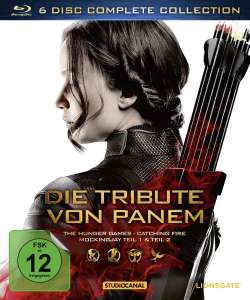 Die Tribute von Panem (Complete Collection) [Blu-ray] für 21€ [Mediamarkt]