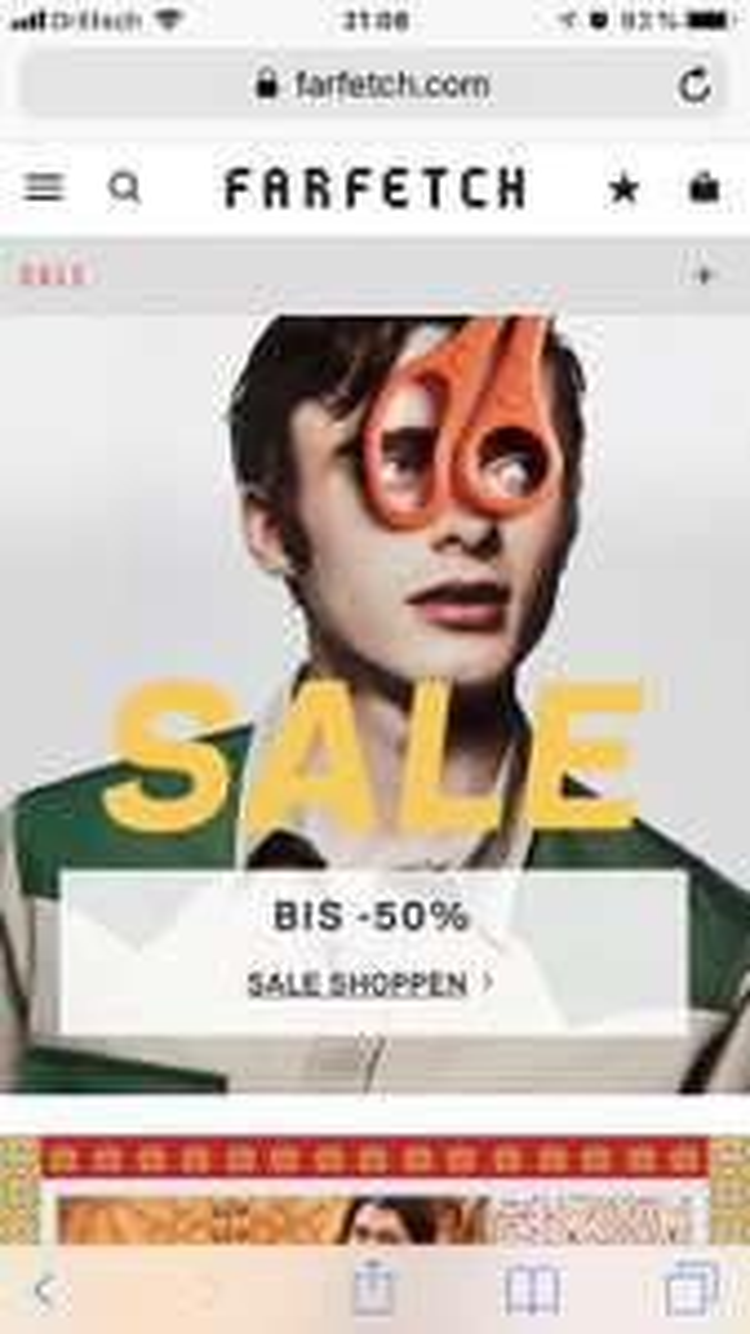 Farfetch Sale bis zu 50% (+ 10% +40€ Gutschein