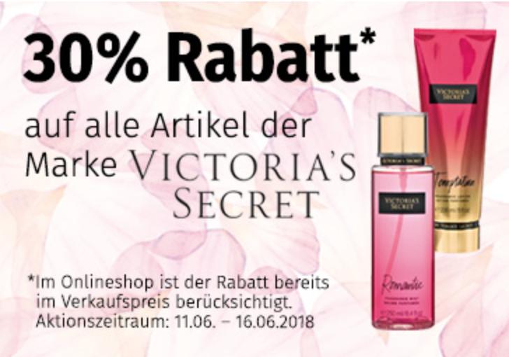 30% Rabatt auf Artikel von Victoria's Secret bei Müller