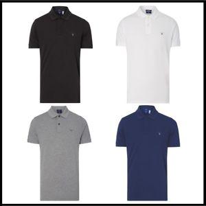 GANT Poloshirt Herren Polo Shirt Classic RUGGER Slim Fit  @ebay