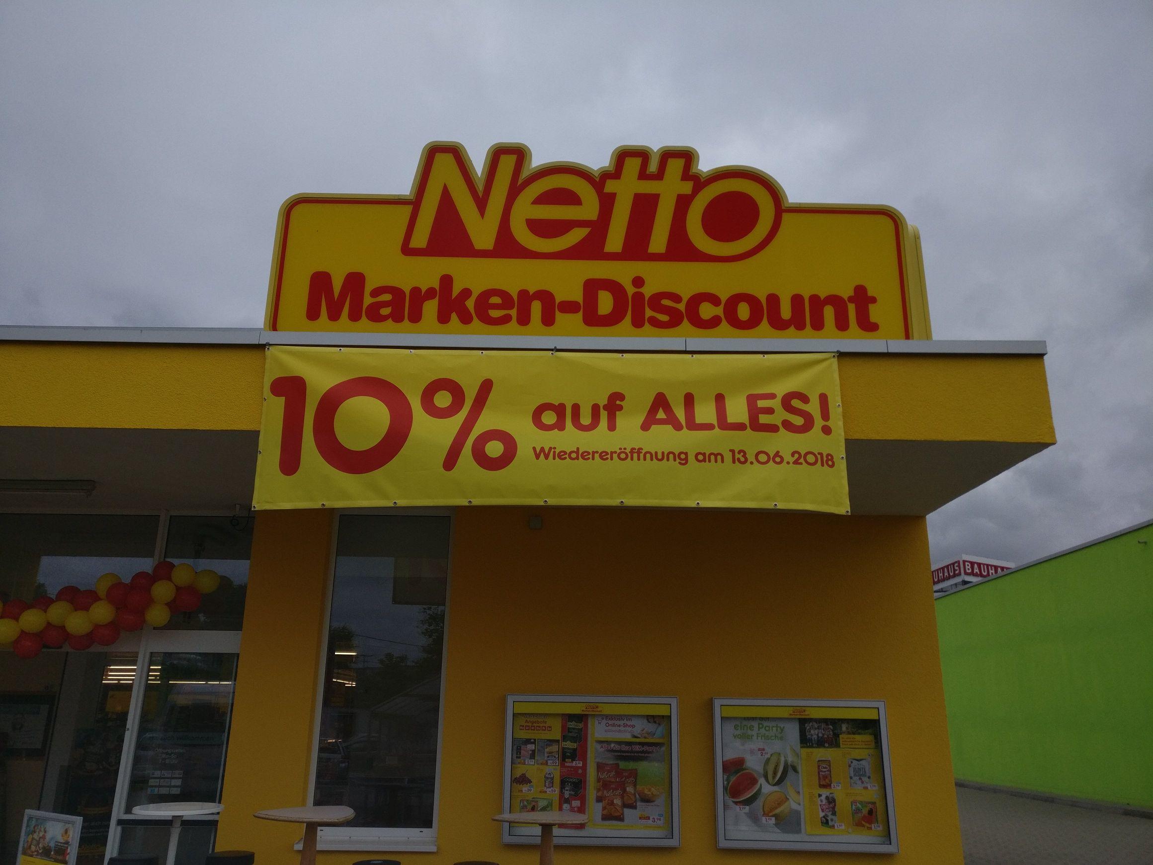 Netto (ohne Hund) Filiale in Kassel Neueröffnung [lokal] 10% auf alles *