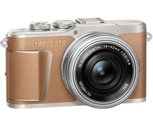 Olympus PEN E-PL9 14-42mm Kit in braun und schwarz, deutscher Händler