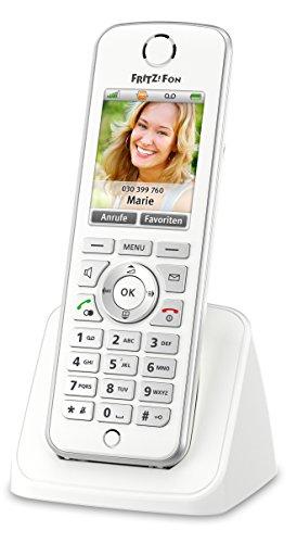 [Amazon] AVM FRITZ!Fon C4 Telefon (Farbdisplay, beleuchtete Tastatur) weiß, deutschsprachige Version