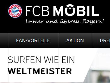 FCB Mobil Dayflat: Unbegrenzt gratis surfen während der WM, wenn Deutschland spielt