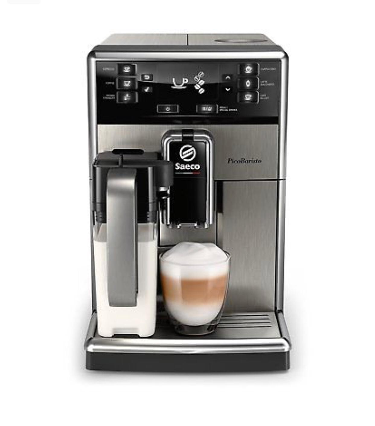 SAECO SM5473/10 PicoBaristo Kaffeevollautomat Maschine Edelstahl/Schwarz NEU nur bis 16 Uhr
