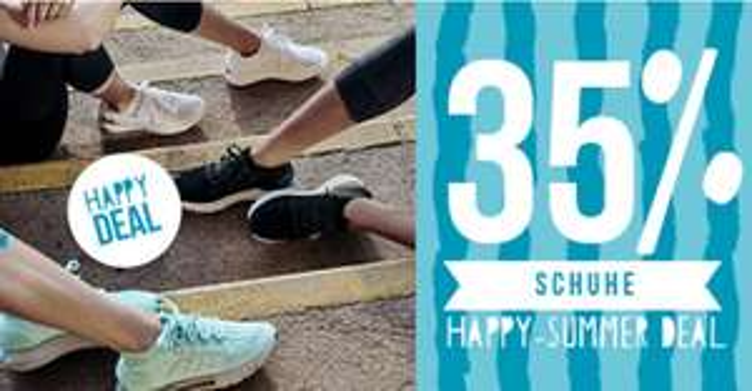 Happy Summer Deal - 35% auf ALLE Schuhe bei my-sportswear.de, z.B. Nike oder Adidas