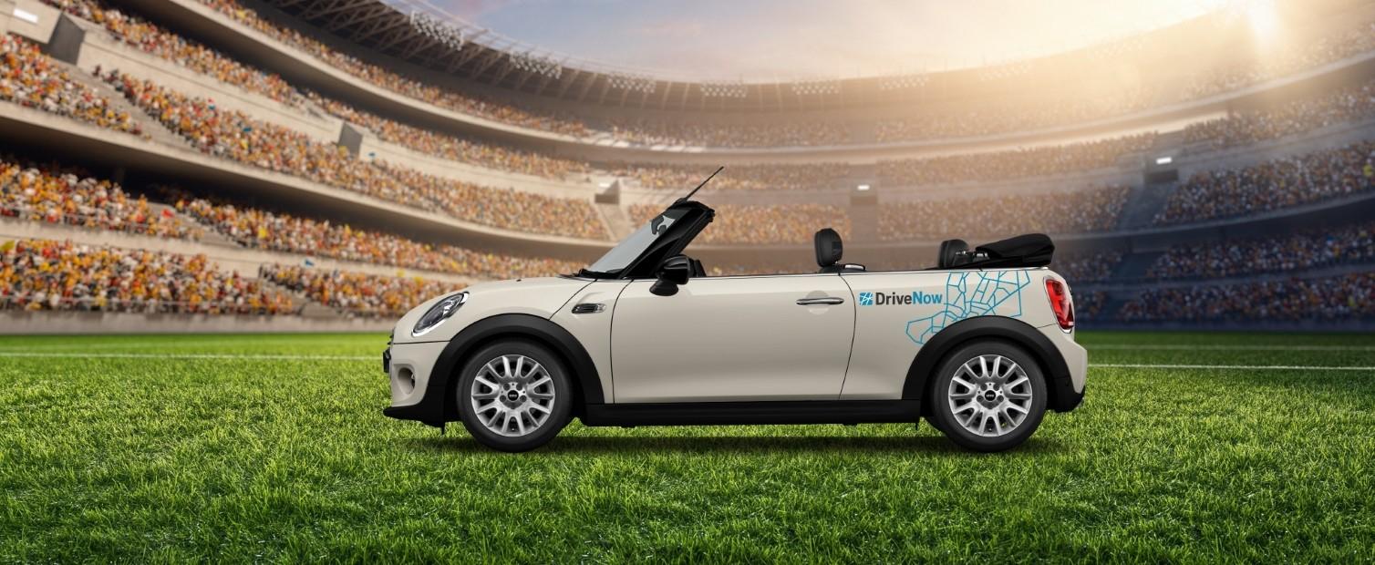 DriveNow Anmeldung für 4,99€ + 4,50€ Cashback (Shoop) + bis 90 zu Freiminuten möglich