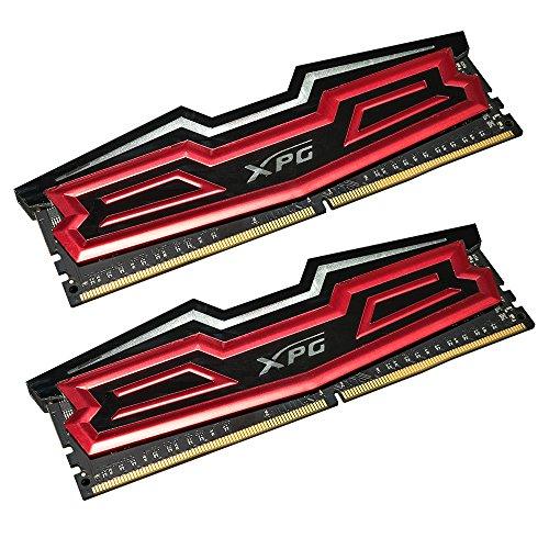 RAM ADATA XPG Dazzle LED DIMM Kit 16GB (2x8GB), DDR4-2400 (AX4U2400W8G16-DRD)