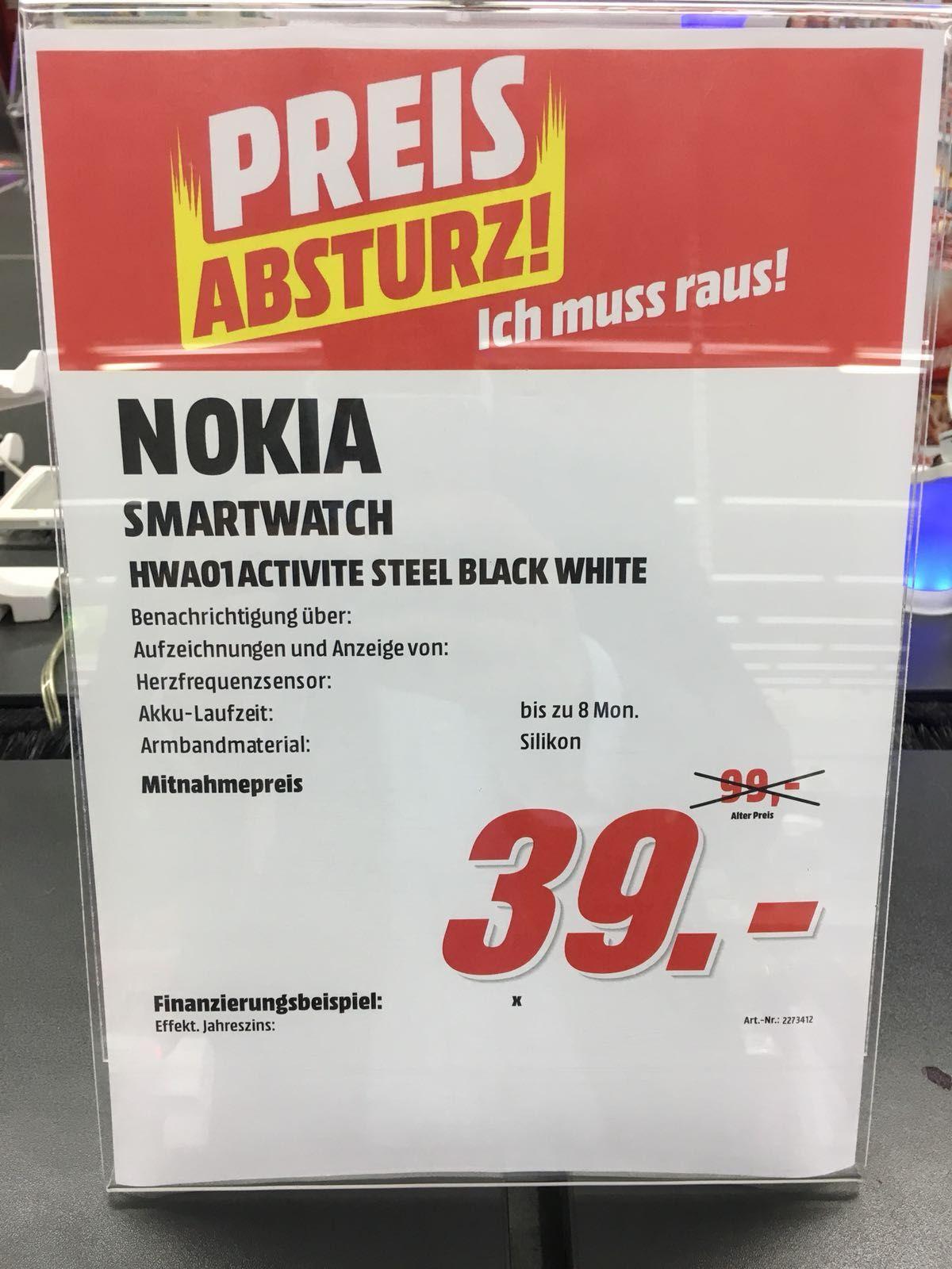 [Lokal Media Markt Krefeld] Nokia Steel Black/Black&White