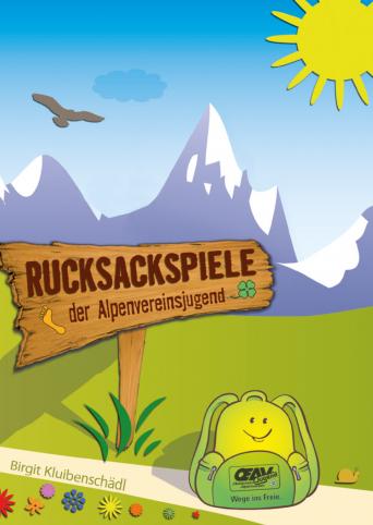 Rucksackspielebuch der österreichischen Alpenvereinsjugend kostenlos bestellen !