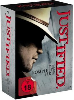 Justified - Die komplette Serie (18 Discs Blu-ray) für 39,94€ (Alphamovies)